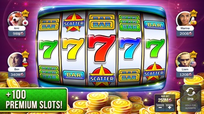 Slot Machines - Huuuge Casino iPhone