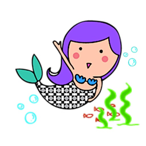 Mermaid Mermaidmoji Sticker