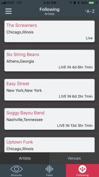 ShowMaster - Live Music Guide screenshot-3