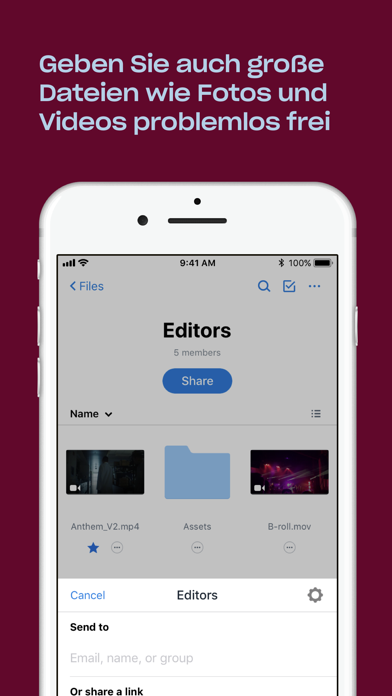 Screenshot for Dropbox in Germany App Store