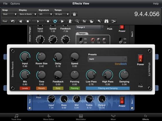Stereo Reverb AUv3 Plugin screenshot 5