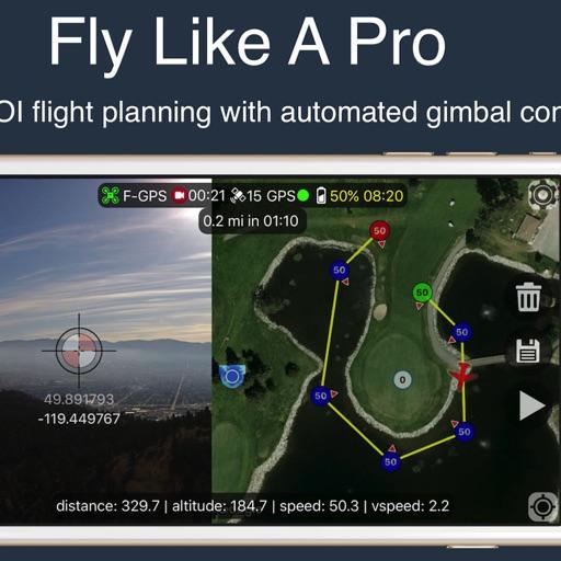 Flight Plan for DJI Drones