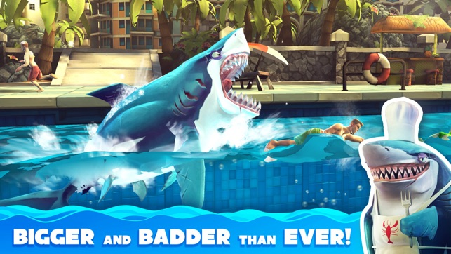 ‎Hungry Shark World Screenshot