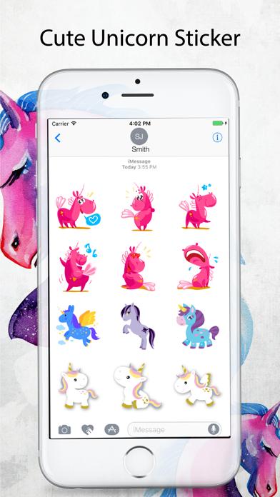 Unicorn Stickers Pack - Emoji screenshot three