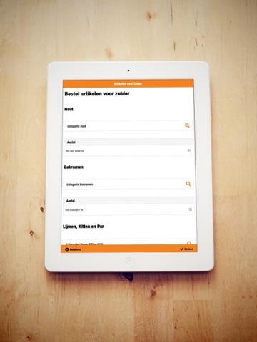Slagkracht App - náhled