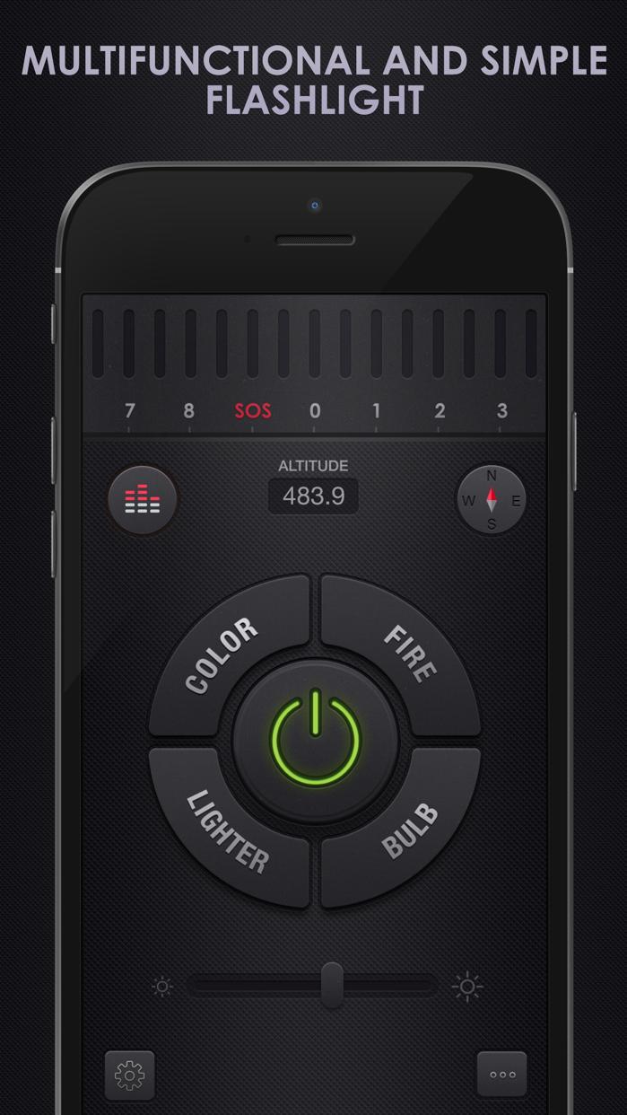 Flashlight for iPhone + iPad Screenshot