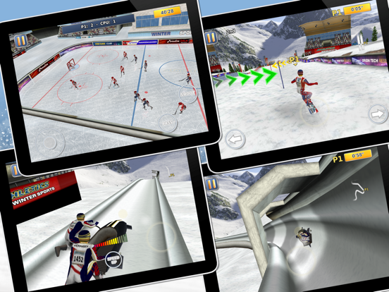 Athletics 2: Winter Sports screenshot 8