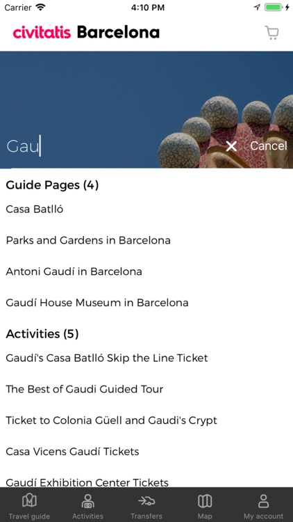 Barcelona Guide Civitatis.com screenshot-9