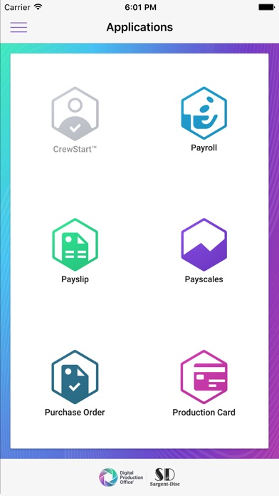 Screenshot of Payscales App