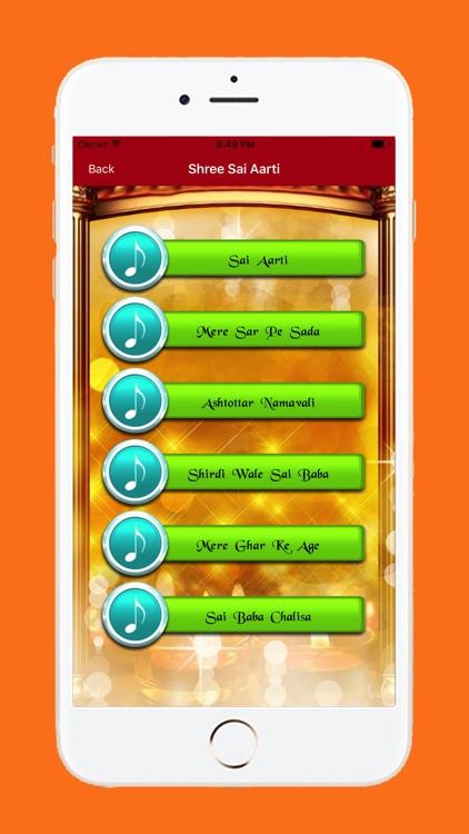 Shree Sai Baba Aarti screenshot-3