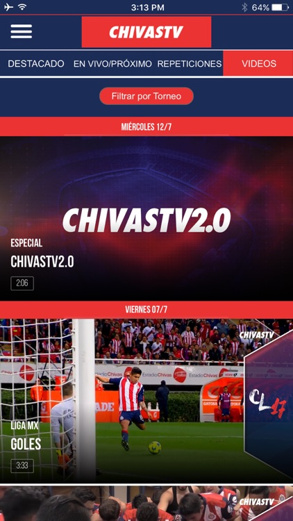ChivasTV 2.0 screenshot-1
