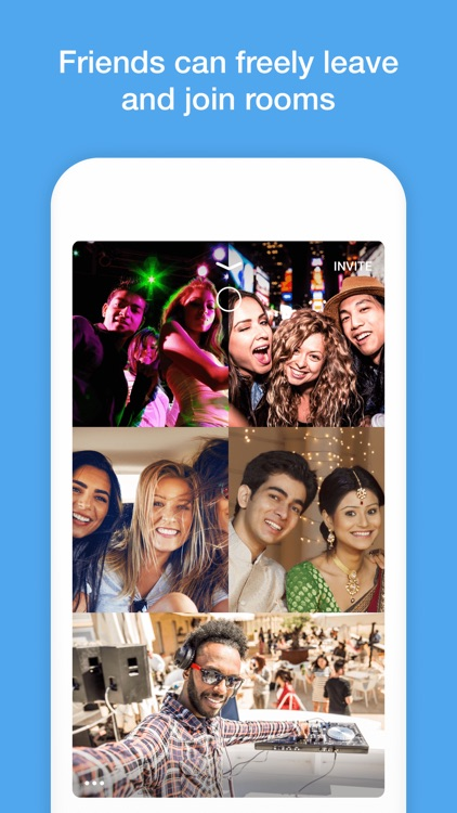 Pack - Live Group Video Chat screenshot-4