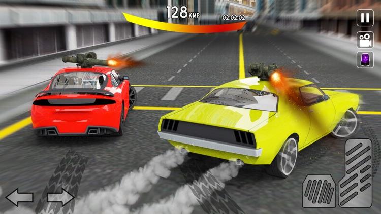Car Shooting Gangs: City Race screenshot-3