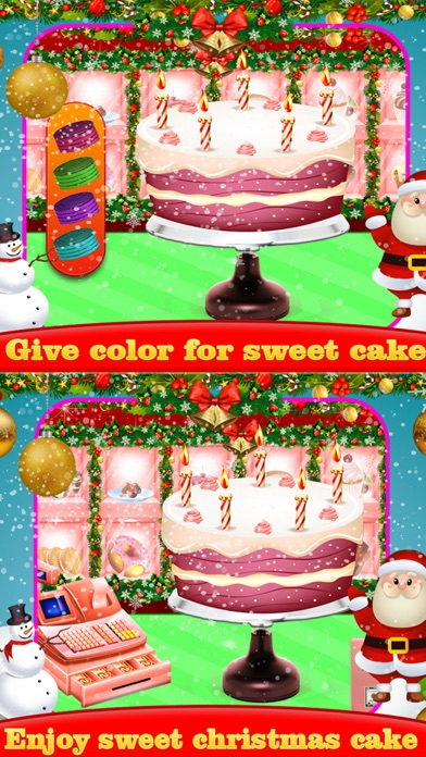 Christmas Sweet Cake Maker screenshot three
