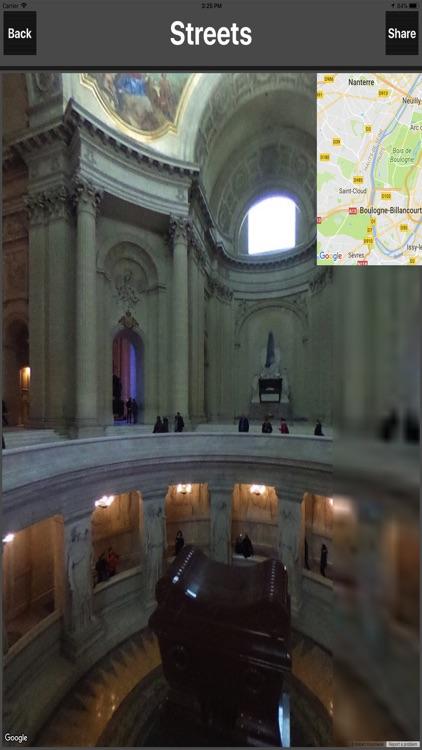 Paris France Offline TravelMap