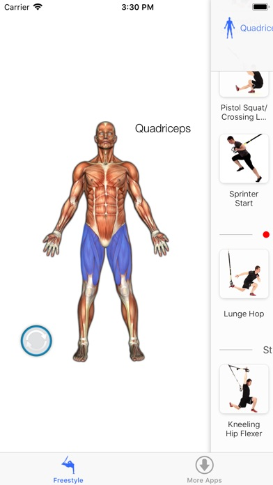 Screenshot for Virtual Trainer Suspension in Czech Republic App Store