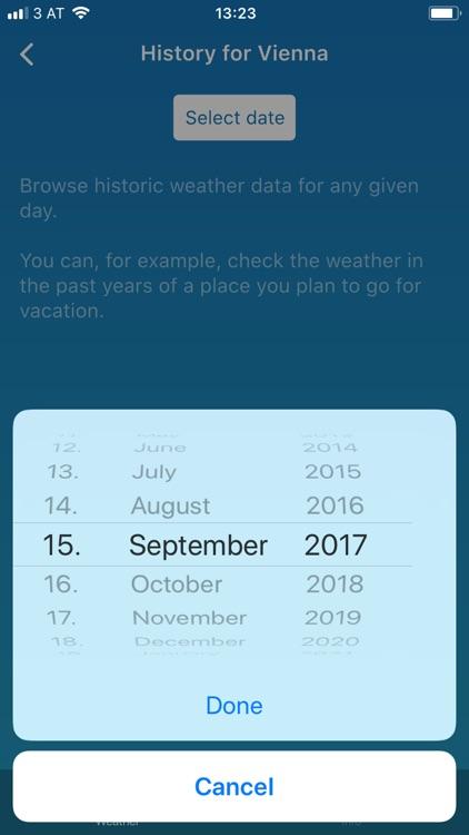 Weather Pro Forecast & History screenshot-3
