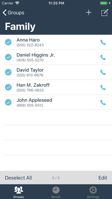 Group SMS! 4 Screenshot