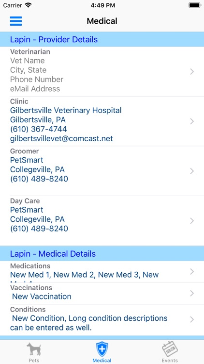 myPetCare screenshot-2
