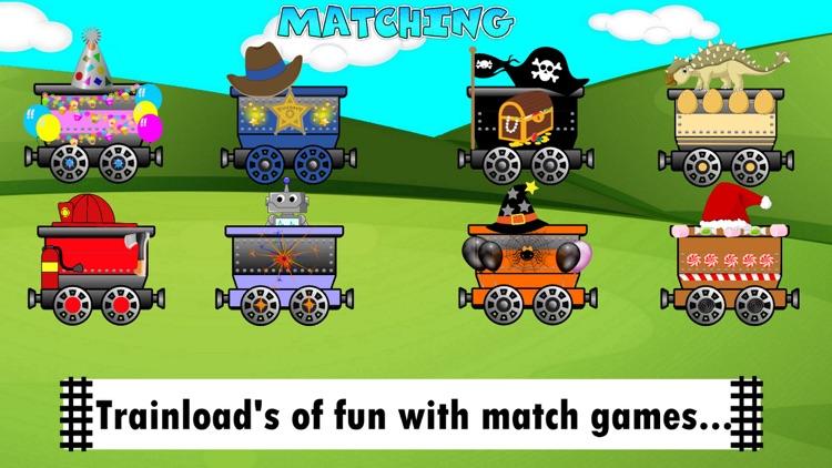 Train Games Dinosaur & Zoo Fun screenshot-4