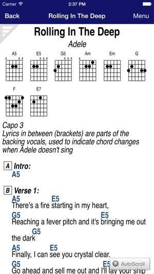 Guitartapp Pro Tabs Chords
