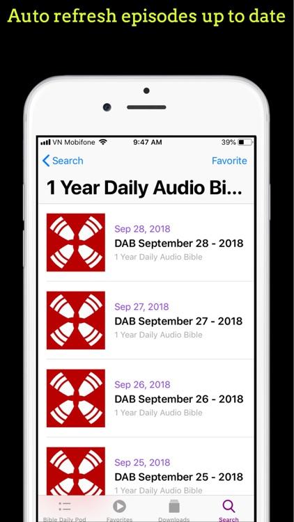 Bible Daily Pod screenshot-4
