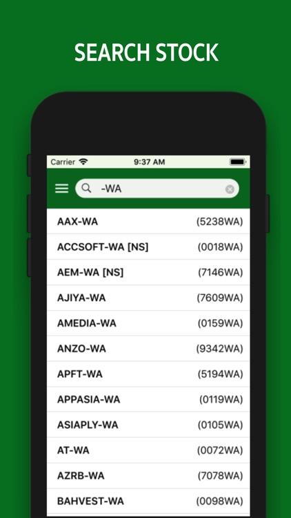 iSaham Stock Screener screenshot-4