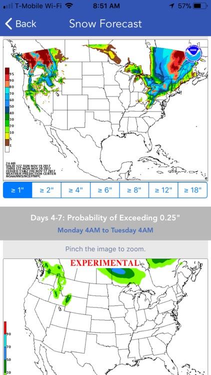 NOAA Ski & Snow Forecast screenshot-4