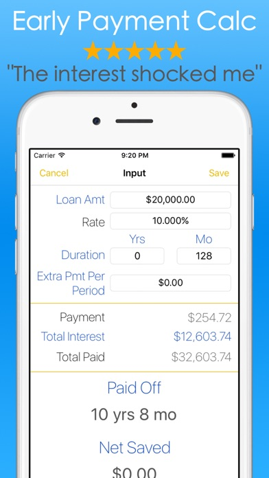 Student Loans Calculator - Debt Payoff Tracker Vue