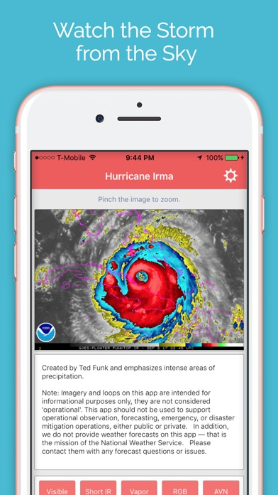 Hurricane Irma - NHC Satellite Imagery Tracker screenshot 2