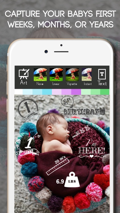Baby Photo Editor Sticker Pics screenshot-4