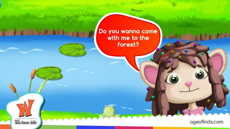 Animals Forest Wonderwood screenshot-3