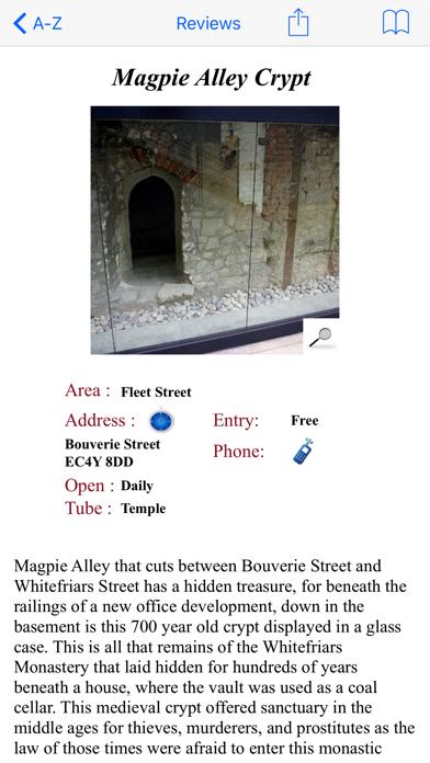 Hidden London screenshot