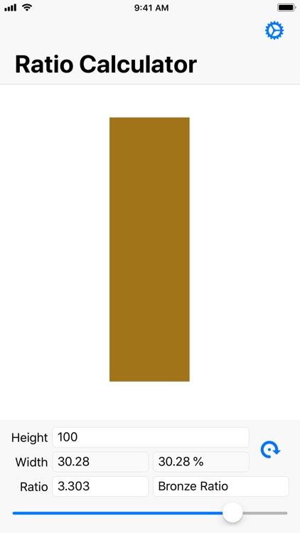 Simple Golden Ratio Calculator screenshot-6