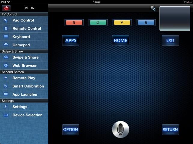 Panasonic TV Remote 2 on the App Store
