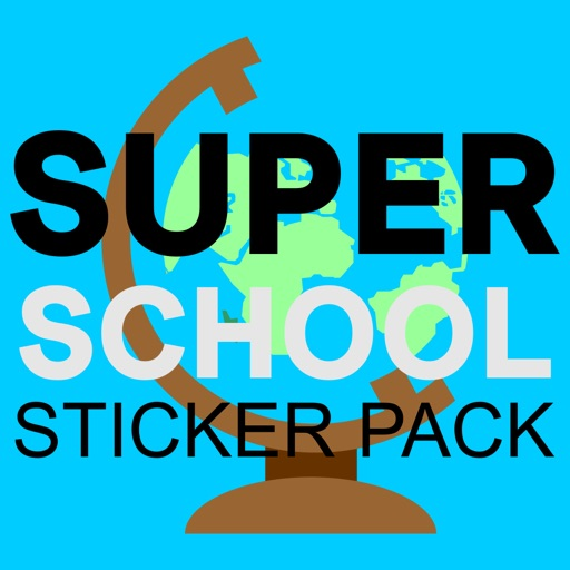Super school sticker pack