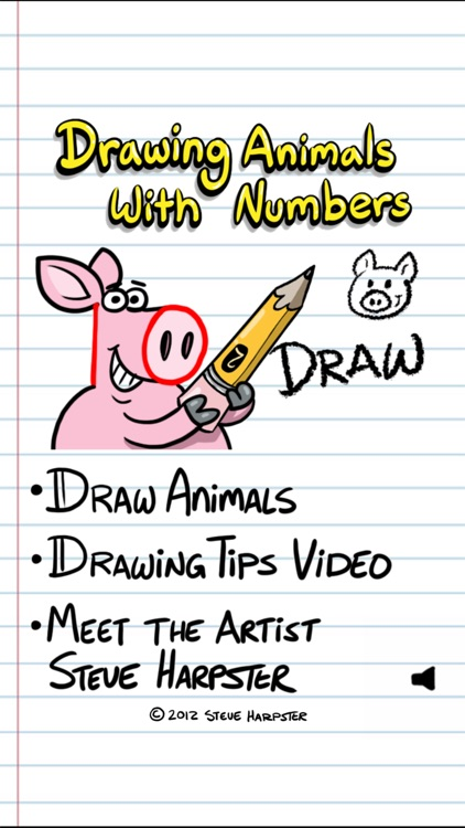 Drawing Animals With Numbers By Johnny Byrnes