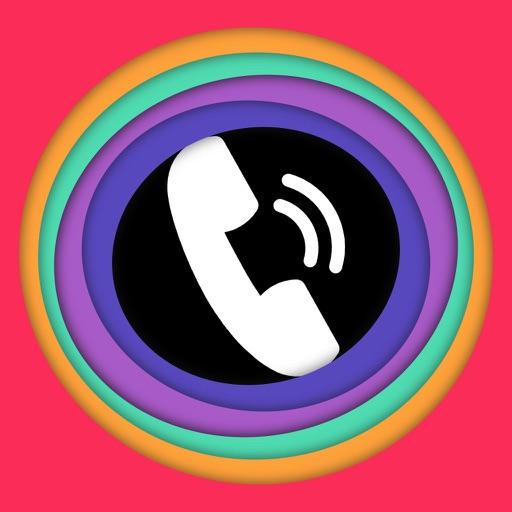 Цвет вызов - Цвет телефона