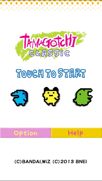 Screenshot for Tamagotchi Classic in Portugal App Store