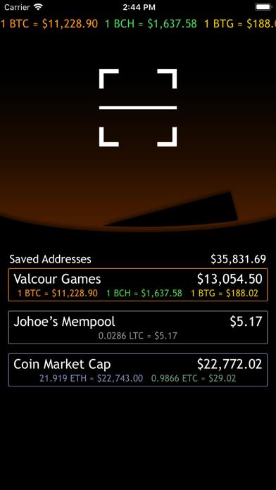 bitcoin wallet balance