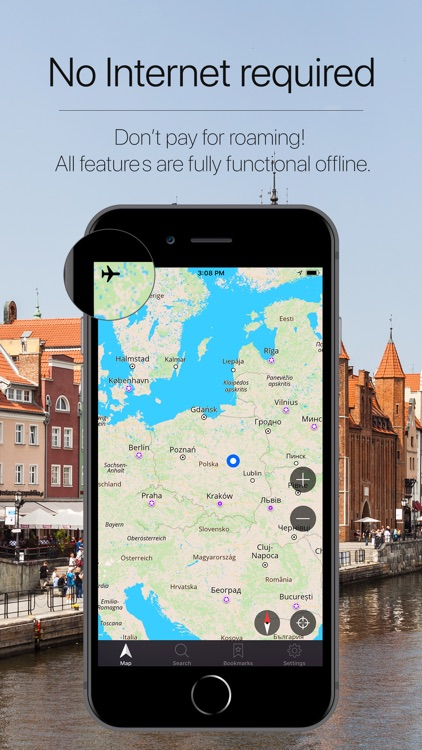 Poland Offline Navigation screenshot-0