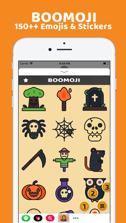 BooMoji - Halloween Stickers screenshot-3