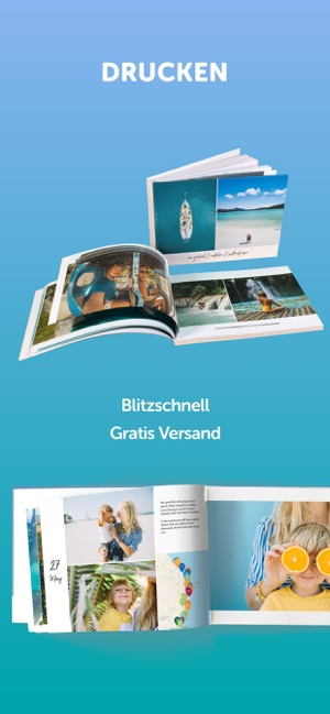 Journi Blog Tagebuch, Fotobuch Screenshot