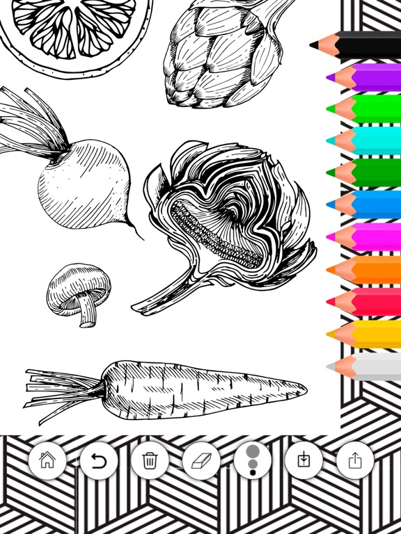 Doodle on the screen – color and draw on pictures-ipad-2