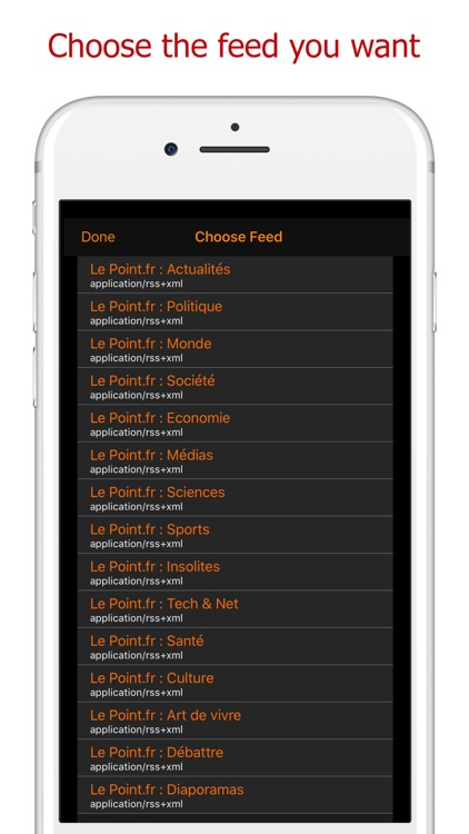 Add My Feed - RSS Atom JSON screenshot-3