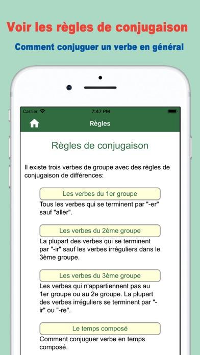 Telecharger Conjugaison Du Verbe Francais Pour Iphone Ipad Sur L App Store Education