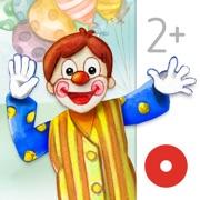 Au cirque - Un livre interactif pour les enfants