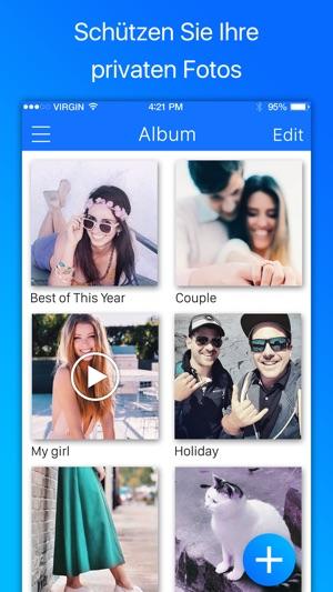 Bilder Verstecken, Geheimer Fotos Speichern Screenshot