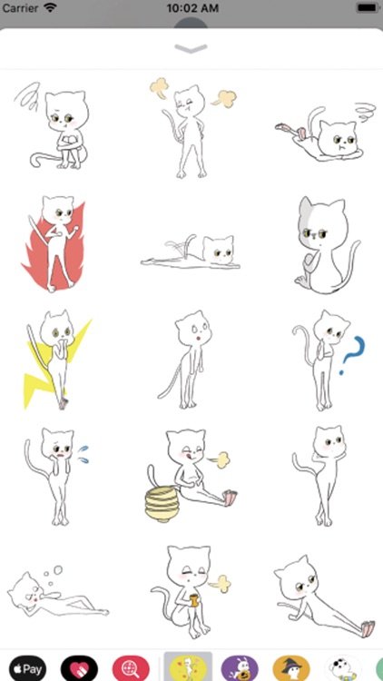 lovely cat : stickers