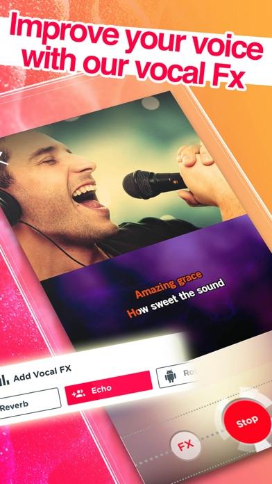Red Karaoke Sing Record review screenshots